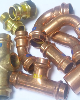Press Gas Fittings